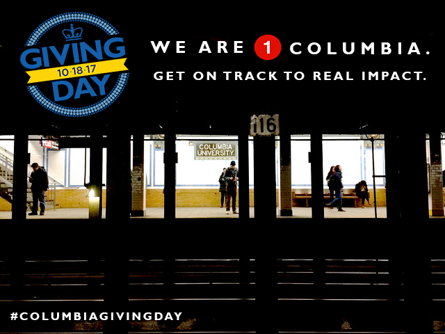 Support Columbia University Press on #ColumbiaGivingDay!