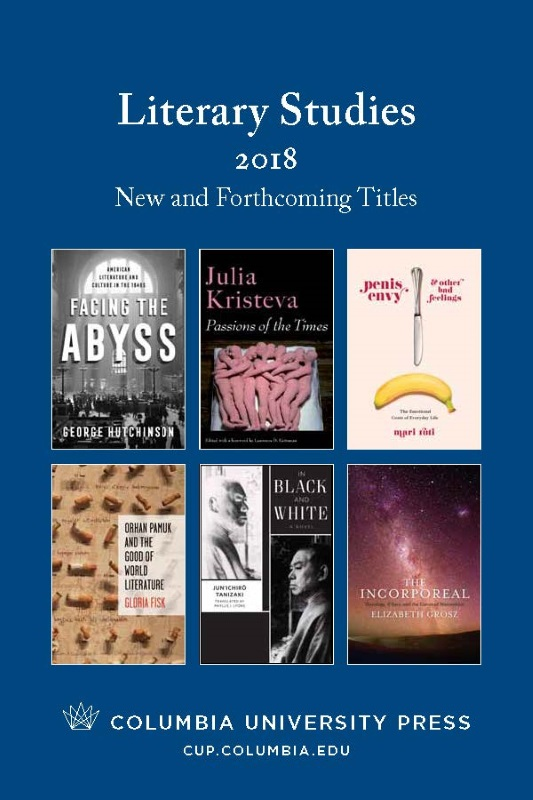 2018 Literary Studies Catalog
