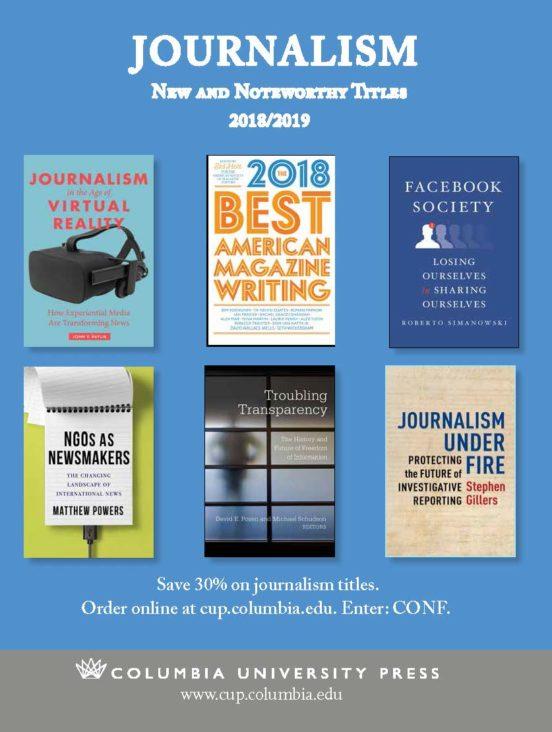 2018 Journalism Brochure