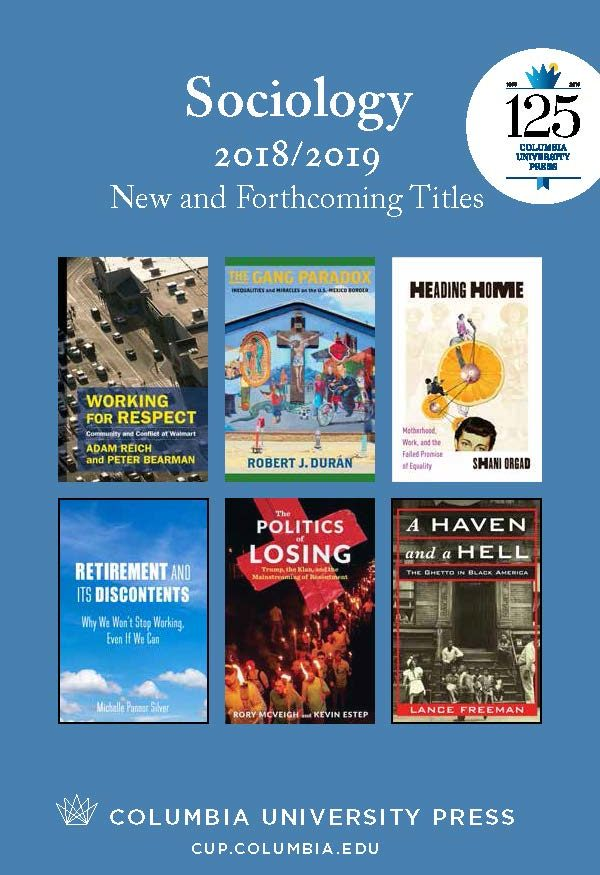 2018/2019 Sociology Catalog
