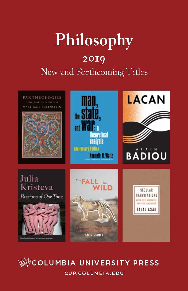 2019 Philosophy Catalog