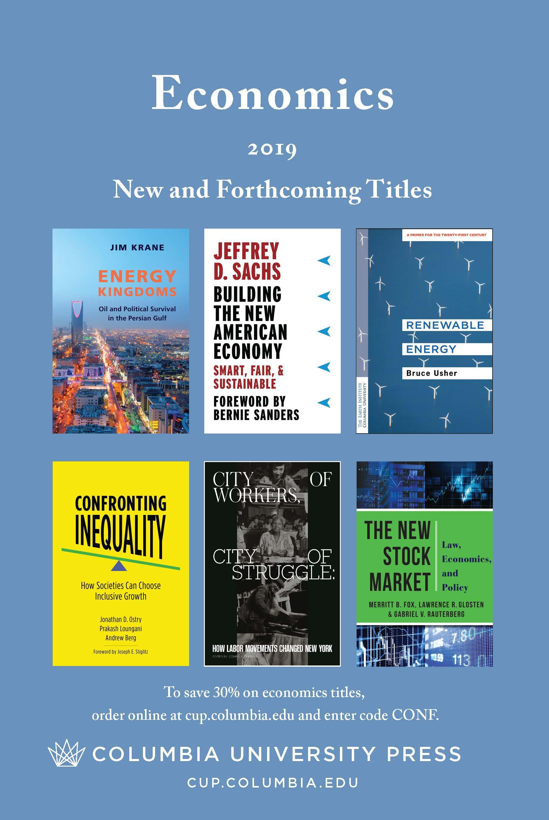 2019 Economics Catalog