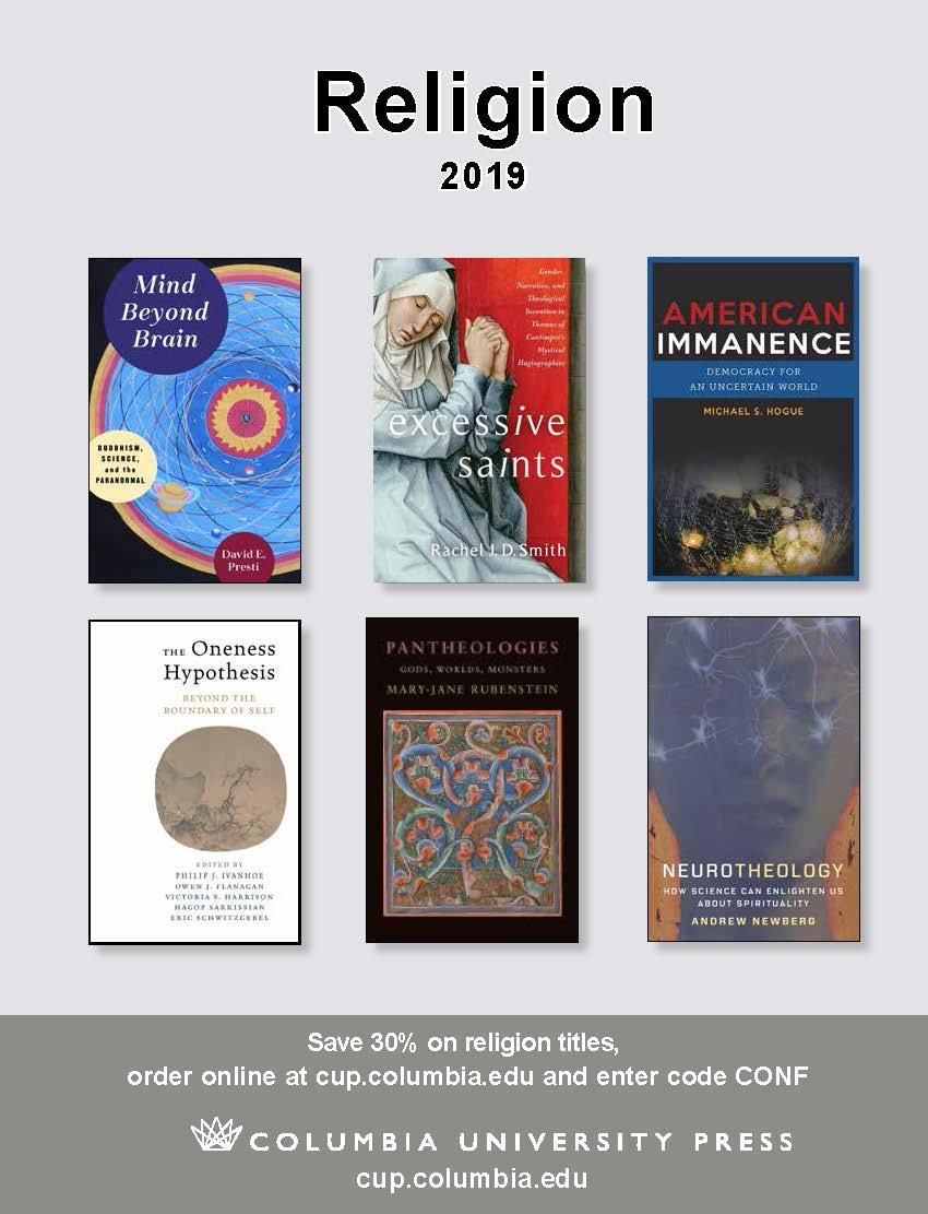 2019 Religion Catalog