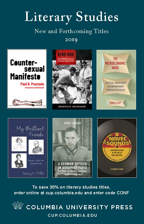 2019 Literary Studies Catalog