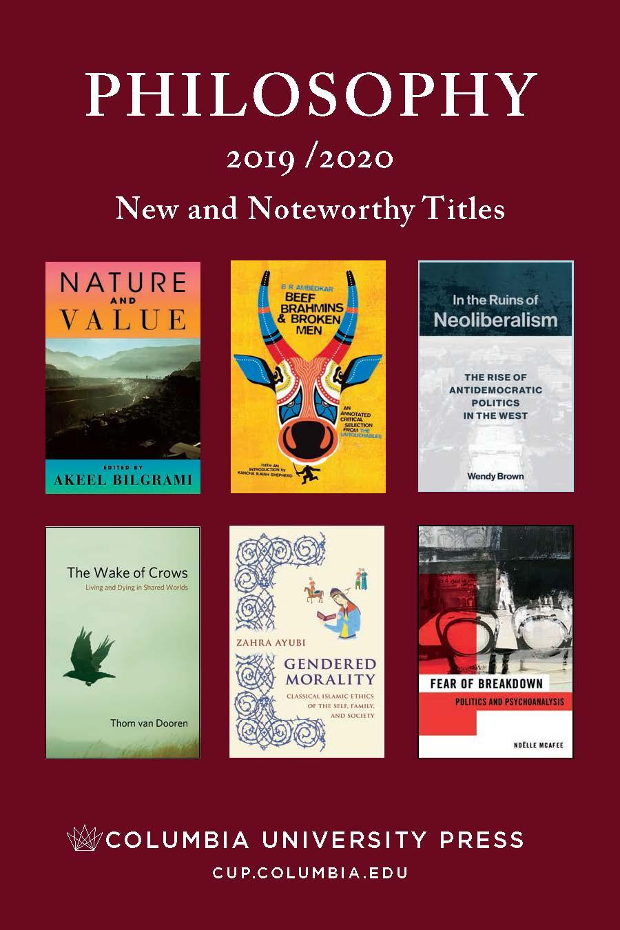 2019/2020 Philosophy Catalog